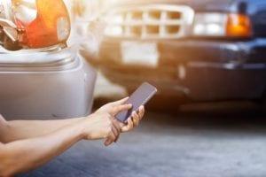 phone call car incident