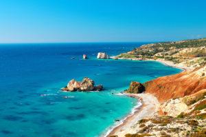 Cyprus coast line